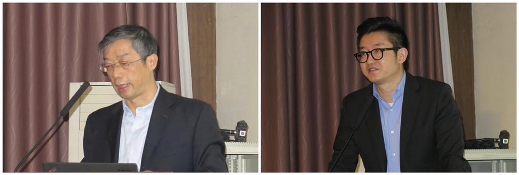 上海岱嘉CEO钱伟佳(左)、上海岱嘉产品经理郭凌宇(右)
